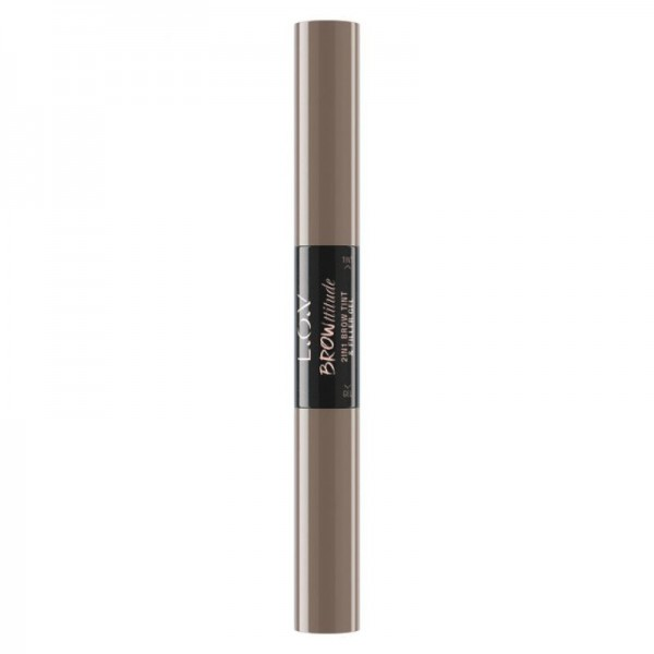 L.O.V - Augenbrauengel - Browttitude 2in1 Brow Tint & fFill - 100 Bold Blonde