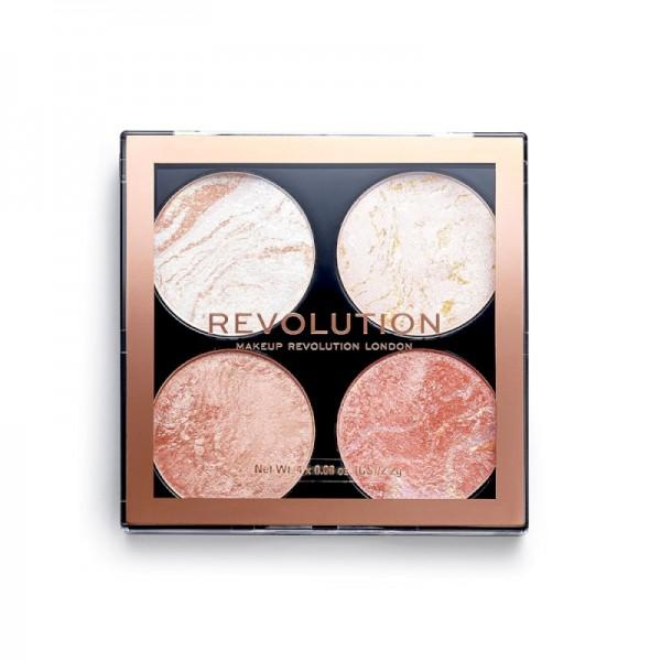 Revolution - Makeuppalette - Cheek Kit Take A Breather