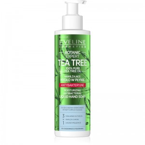Eveline Cosmetics - Handseife - Botanic Expert Tea Tree Moisturizing Antibacterial Liquid Hand Soap