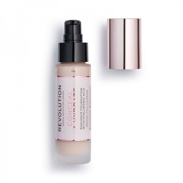 Revolution - Foundation - Conceal & Hydrate Foundation - F4