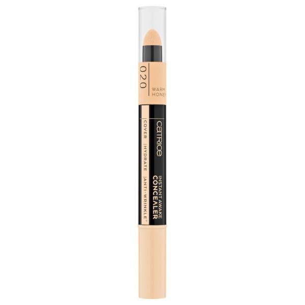 Catrice - Concealer - Instant Awake Concealer 020 - Warm Honey