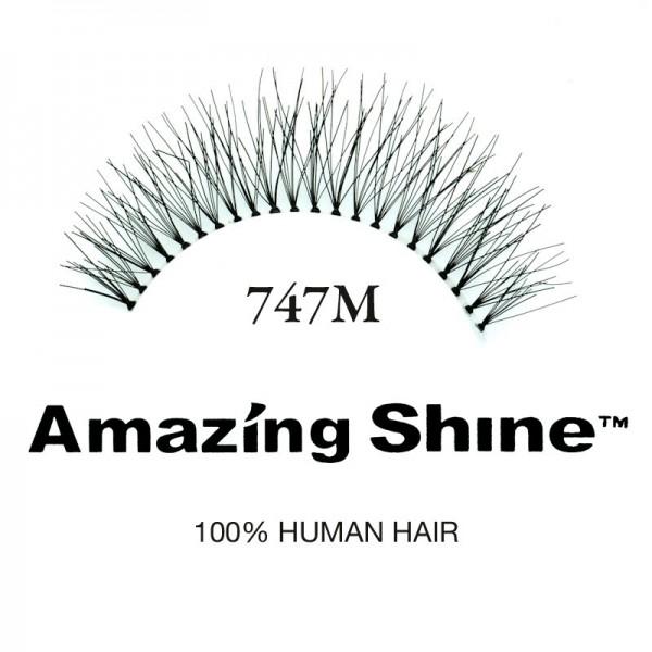Amazing Shine - Falsche Wimpern - Wimpernbänder - Nr. 747M - Echthaar