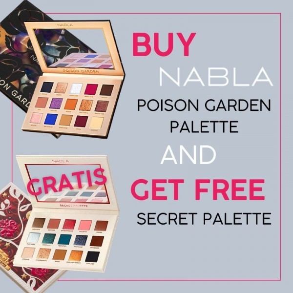 Nabla - Poison Garden and Free Secret Palette