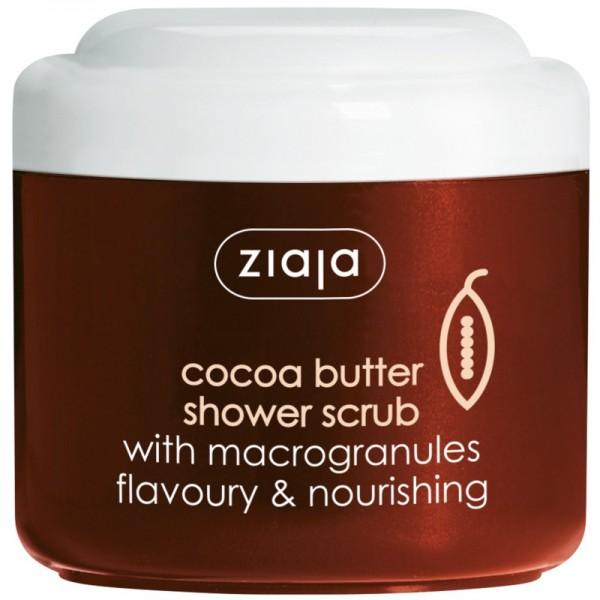 Ziaja - Körperpeeling - Cocoa Butter Shower Scrub with Macrogranules
