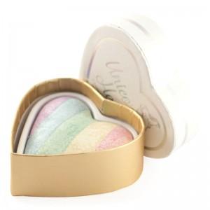 I Heart Makeup - Rainbow Highlighter - Unicorns Heart