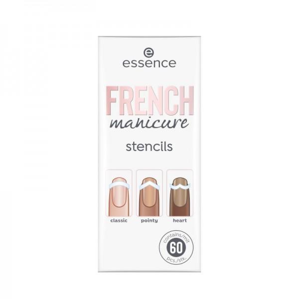 essence - Nagelschablone - french manicure stencils 01 - Walk The Line