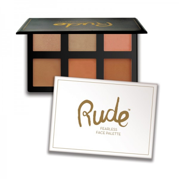 RUDE Cosmetics - Makeuppalette - Fearless Face Palette