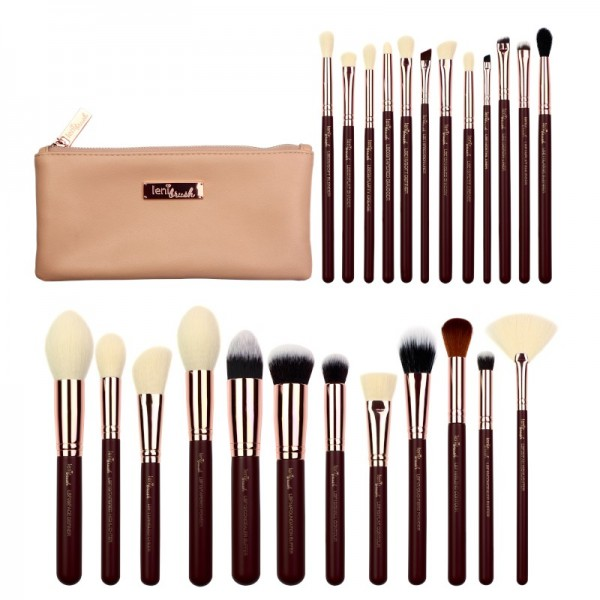 lenibrush - Kosmetikpinselset - Full Collection Set - Midnight Plum Edition