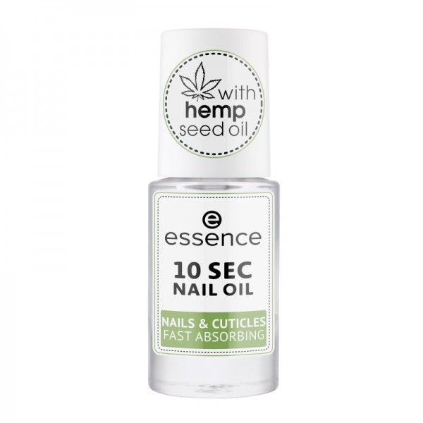 essence - 10 sec nail oil - nails & cuticles fast absorbing