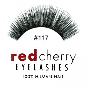 Red Cherry - False Eyelashes No. 117 - Human Hair