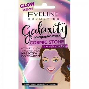 Eveline Cosmetics - Gesichtsmaske - Galaxity Holographic Mask Cosmetic Stone