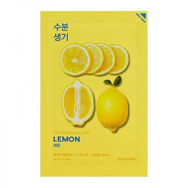 Holika Holika - Pure Essence Mask Sheet - Lemon