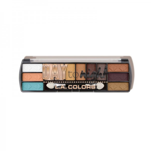 LA Colors - Day to Night (12 Color Eyeshadow) - Sunset