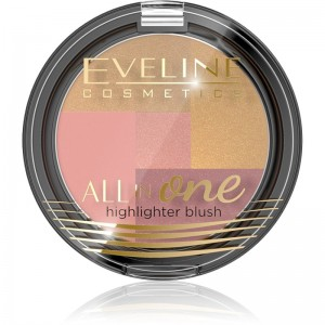 Eveline Cosmetics - Rouge - Mosaic Blush All In One - No 03