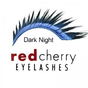Red Cherry - Schimmerwimpern - Dark Night