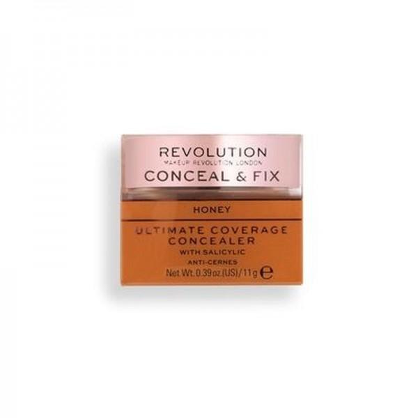 Revolution - Concealer - Conceal & Fix Ultimate Coverage Concealer - Honey