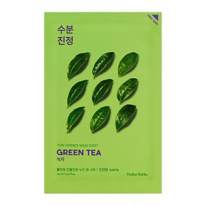 Holika Holika - Gesichtsmaske - Pure Essence Mask Sheet - Green Tea