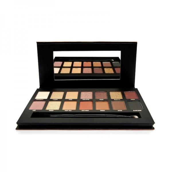 W7 Cosmetics - Lidschattenpalette - Romanced Eyeshadow Palette
