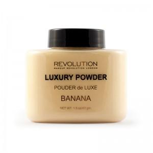 Makeup Revolution - Puder - Luxury Powder - Banana