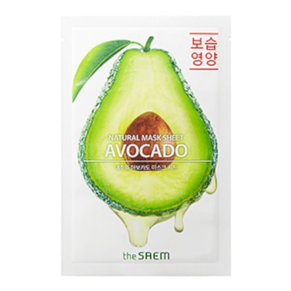 the SAEM - Gesichtsmaske - Natural Mask Sheet - Avocado