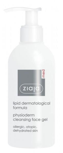 Ziaja Med - Reinigungsgel bei empfindlicher Haut - Lipid Physioderm Cleansing Gel
