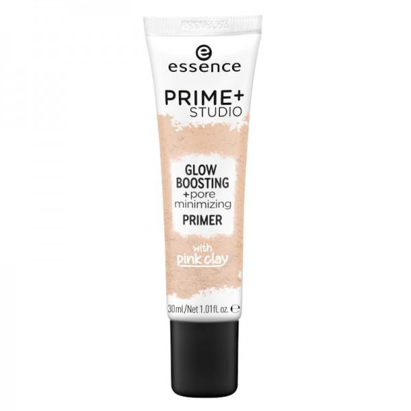 essence - Face Primer - prime+ studio glow boosting + pore minimizing primer