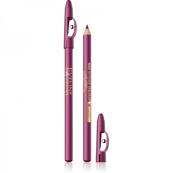 Eveline Cosmetics - Lipliner - Max Intense Colour Lip Liner Cherry