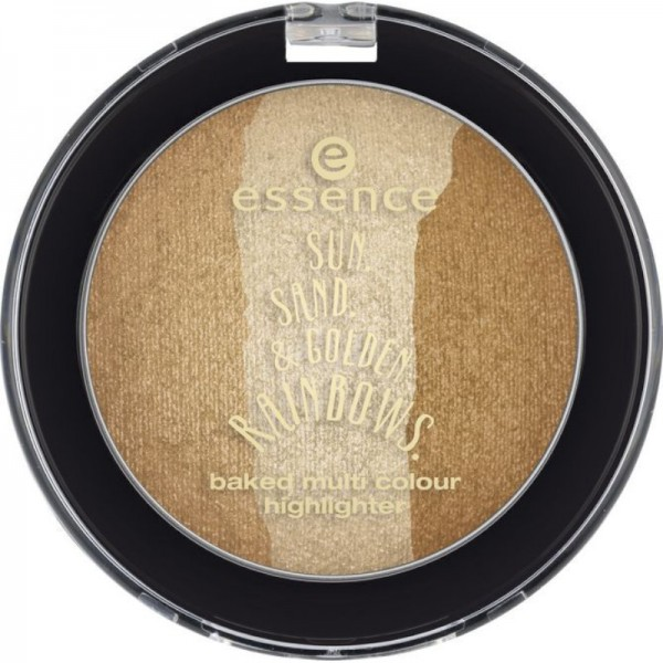 essence - Highlighter - sun. sand. & golden rainbows. baked multi colour highlighter - 02 chasing th