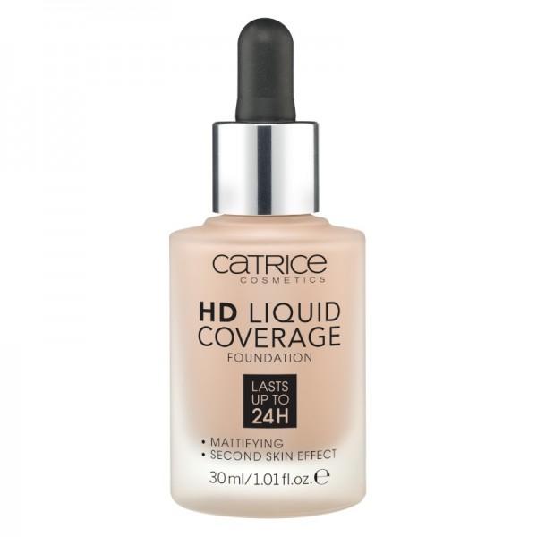 Catrice - Foundation - HD Liquid Coverage Foundation - 040 Warm Beige
