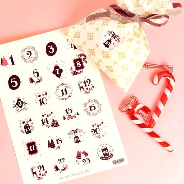 lenibeauty - DIY Adventskalenderset 8 - DIY Advent Calendar Set