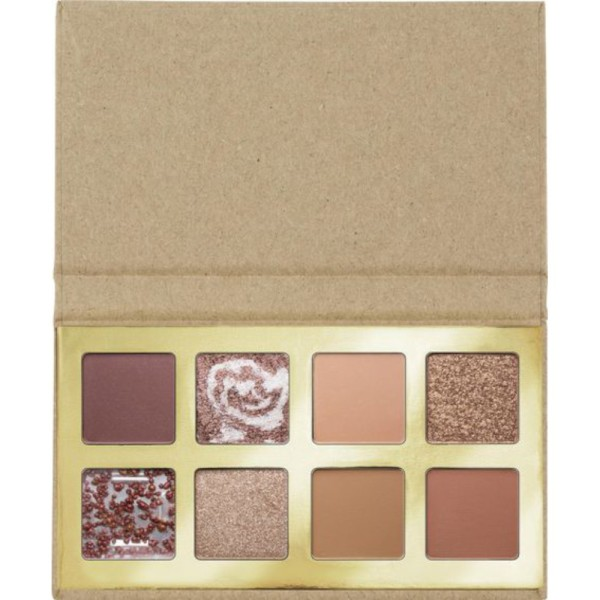 essence - Coffee to glow eyeshadow palette - 01 Up For Coffee?