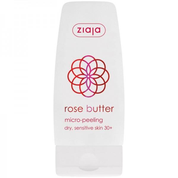 Ziaja - Gesichtspflege - Rose Butter Micro-Peeling