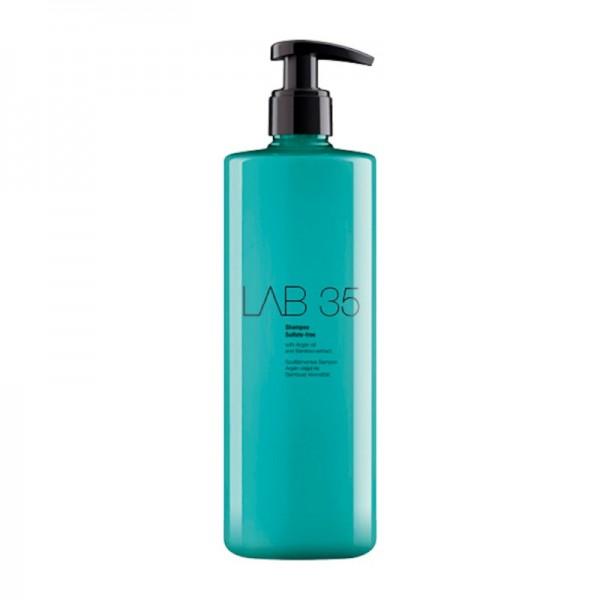 Kallos Cosmetics - Haarshampoo - LAB35 Shampoo Sulfate-free with Argan Oil - 500ml