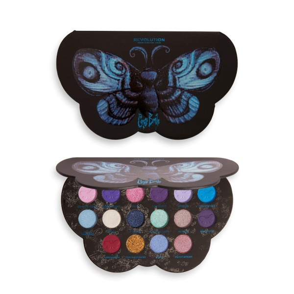 Revolution - X Corpse Bride Butterfly Shadow Palette
