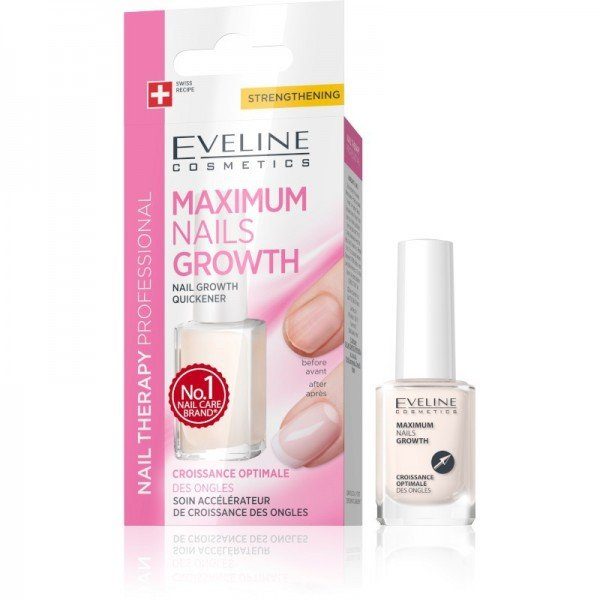 Eveline Cosmetics - cura delle unghie - Nail Therapy Professional Maximum Nails Growth 12Ml