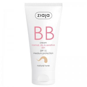 Ziaja - Gesichtspflege - BB Cream - Normal, Dry and Sensitive Skin - Natural Tone SPF15