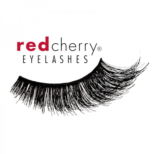Red Cherry - 3D Eyelashes - Red Hot Wink Collections - Retro Finish - Human Hair
