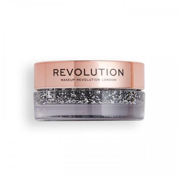 Revolution - Glitterbalm - Viva Glitter Balm Pot Blackout