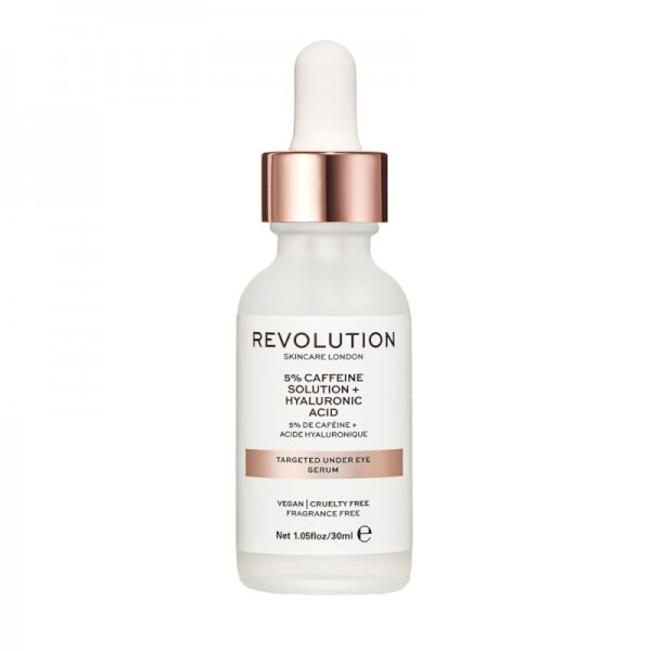 Revolution - Skincare Targeted Under Eye Serum - 5% Caffeine Solution + Hyaluronic Acid
