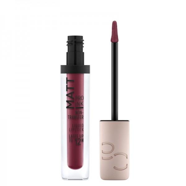 Catrice - Flüssiger Lippenstift - Matt Pro Ink Non-Transfer Liquid Lipstick - 100 Courage Code