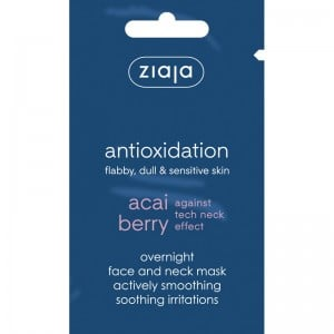 Ziaja - Gesichtsmaske - Acai Berry Overnight Face and Neck Smoothing Mask