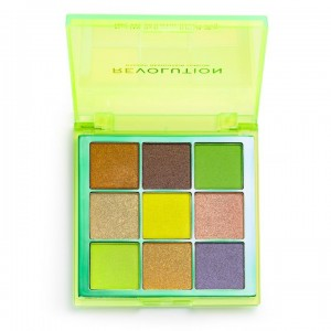 Revolution - Eyeshadow Palette - Viva Neon Palette - Up All Night