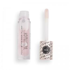 Revolution - Lucidalabbra - Pout Bomb Maxi Plump Plumping Lip Gloss - Divine