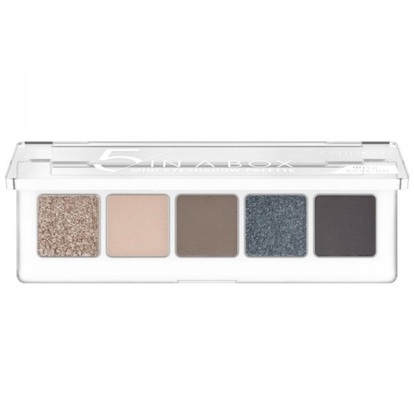 Catrice - Lidschattenpalette - 5 In A Box Mini Eyeshadow Palette - 040 Modern Smokey Look