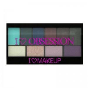 I Heart Makeup - Lidschatten Palette - I Heart Obsession Palette - Wild is the Wind