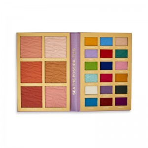 I Heart Revolution - Eyeshadow Palette - Disney Fairytale Books Palette - Ariel