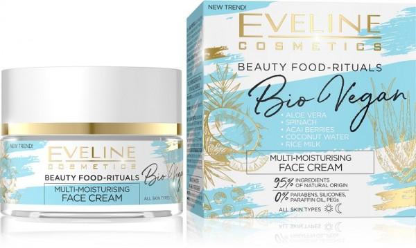 Eveline Cosmetics - Gesichtscreme - Bio Vegan multi-feuchtigkeitsspendende Tages- und Nachtcreme