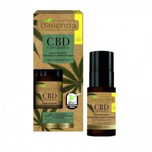 Bielenda - Serum - CBD Cannabidiol Moisturizing And Detoxifying Face Serum Booster For Mixed And Gre