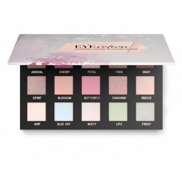 L.O.V - Lidschattenpalette - EYEVOTION extended cherry blossom edition