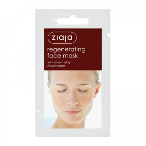 Ziaja - regenerating face mask with brown clay